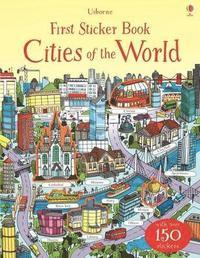 bokomslag First Sticker Book Cities of the World