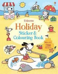 bokomslag Holiday Sticker and Colouring Book