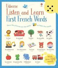 bokomslag Listen and Learn First Words in French