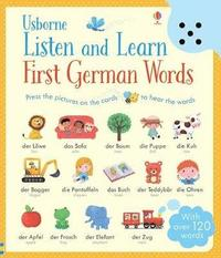 bokomslag Listen and Learn First Words in German