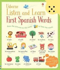 bokomslag Listen and Learn First Words in Spanish