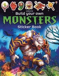 bokomslag Build Your Own Monsters Sticker Book