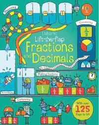 bokomslag Lift-the-flap Fractions and Decimals