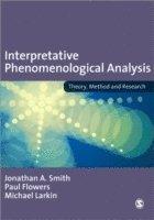 bokomslag Interpretative Phenomenological Analysis