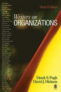 bokomslag Writers on Organizations