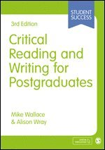 Critical Reading and Writing for Postgraduates 1