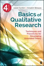 bokomslag Basics of qualitative research - techniques and procedures for developing g