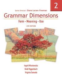 bokomslag Grammar Dimensions 2
