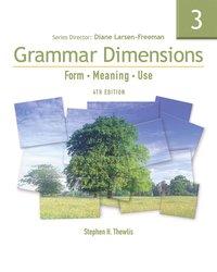 bokomslag Grammar Dimensions 3