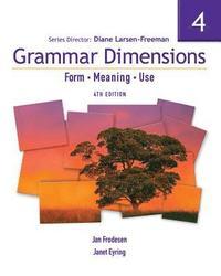 bokomslag Grammar Dimensions 4