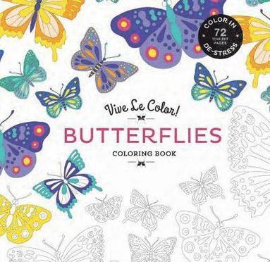 bokomslag Butterflies Coloring Book