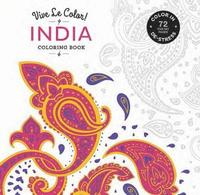 bokomslag India Coloring Book