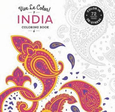 bokomslag India Coloring Book