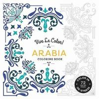 bokomslag Arabia (Coloring Book): Color In; De-stress (72 Tear-out Pages)