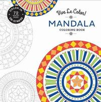 bokomslag Mandala (Coloring Book): Color In; De-stress (72 Tear-out Pages)