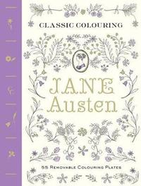 bokomslag Classic Colouring: Jane Austen ( adult colouring book )