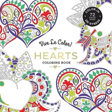 bokomslag Hearts ( Coloring Book )