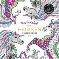 bokomslag Horses ( Coloring Book )