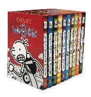 bokomslag Diary Of A Wimpy Kid Box Of Books (Books 1-10)