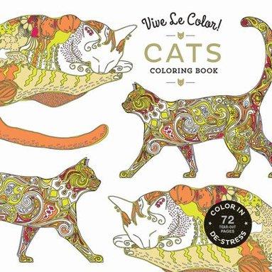 bokomslag Vive Le Color! Cats (Adult Coloring Book)