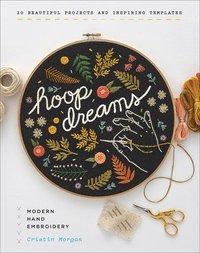 bokomslag Hoop Dreams: Modern Hand Embroidery