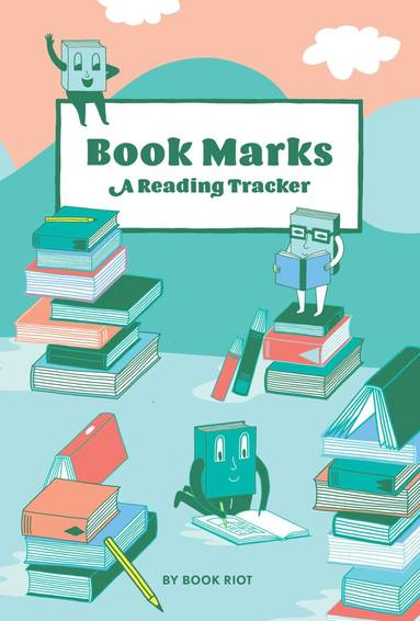 Läsdagbok Book Marks - A Reading Tracker