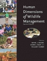 bokomslag Human Dimensions of Wildlife Management