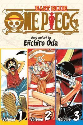 One Piece -  Vol. 1: Includes vols. 1, 2 & 3 1