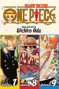 bokomslag One piece: east blue 7-8-9, vol. 3 (omnibus edition)