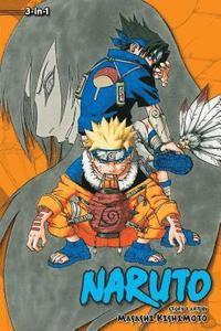 bokomslag Naruto (3-in-1 Edition), Vol. 3