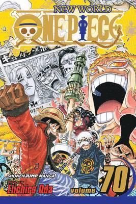 bokomslag One Piece, Vol. 70