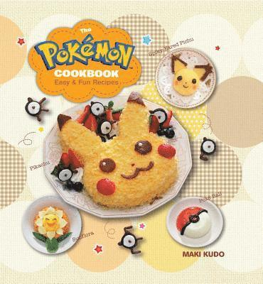 bokomslag Pokemon cookbook - easy & fun recipes
