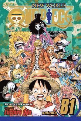 bokomslag One Piece, Vol. 81