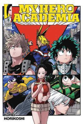 bokomslag My hero academia, vol. 8