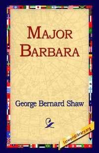 bokomslag Major Barbara