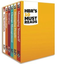 bokomslag HBR's 10 Must Reads Boxed Set (6 Books) (HBR's 10 Must Reads)