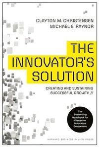 bokomslag The Innovator's Solution