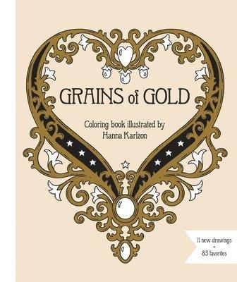 bokomslag Grains of Gold Coloring Book