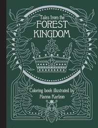 bokomslag Tales From the Forest Kingdom Coloring Book