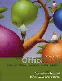 bokomslag Office 2007 Introductory HardBack