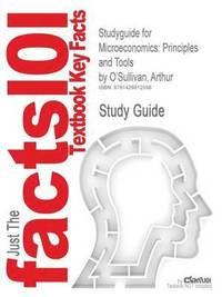bokomslag Studyguide for Microeconomics