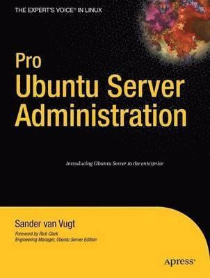 bokomslag Pro Ubuntu Server Administration