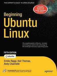 bokomslag Beginning Ubuntu Linux 5th Edition Book/DVD Package