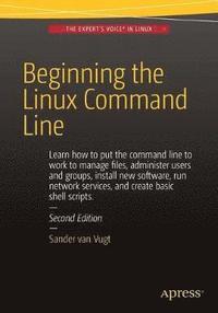 bokomslag Beginning the Linux Command Line