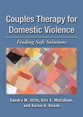 bokomslag Couples Therapy for Domestic Violence