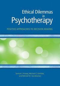 bokomslag Ethical Dilemmas in Psychotherapy