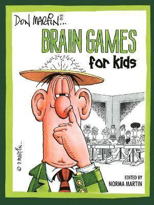 bokomslag Don Martin Brain Games For Kids