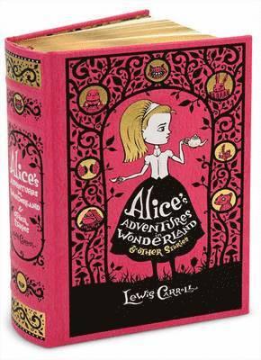 bokomslag Alice's Adventures in Wonderland & Other Stories (Barnes & Noble Omnibus Leatherbound Classics)