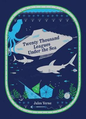 bokomslag Twenty Thousand Leagues Under the Sea