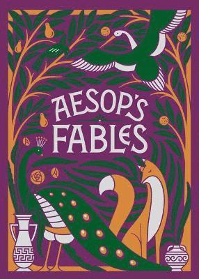 bokomslag Aesop's Fables (Barnes & Noble Children's Leatherbound Classics)